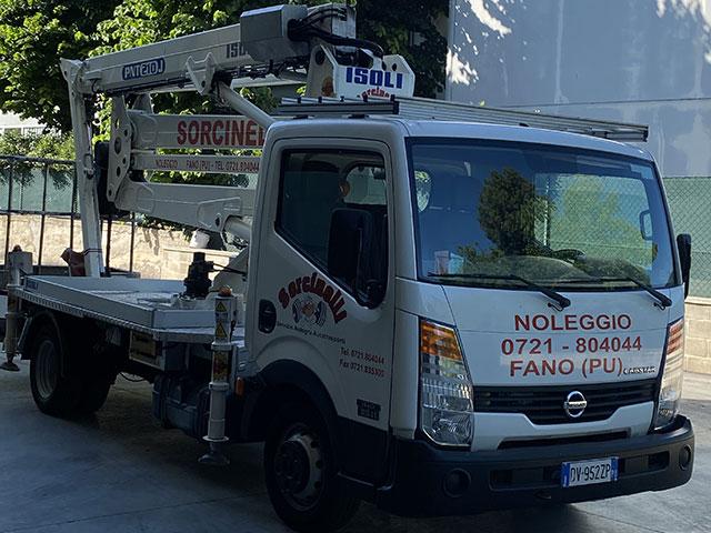 Sorcinelli Noleggio Piattafore Freddo